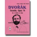 Dvorak - String Trio Terzetto in C major, op. 74, B148 (2 violins & viola) - Music Minus One