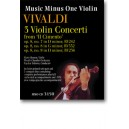 Vivaldi - Violin Concerti, op. 8, nos. 7, 8, 9 (3 concerti) from Il Cimento (2 CD set) - Music Minus One