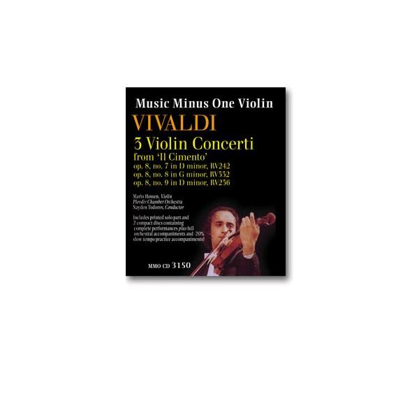 Violin Concerti, op. 8, nos. 7, 8, 9 (3 concerti) from Il Cimento (2 CD set)