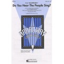 Claude-Michel Schonberg: Do You Hear The People Sing? (SATB/Piano)