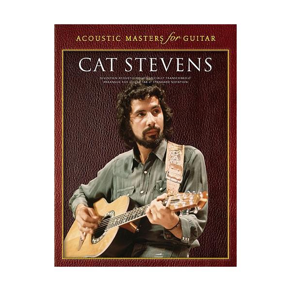 Acoustic Masters For Guitar: Cat Stevens