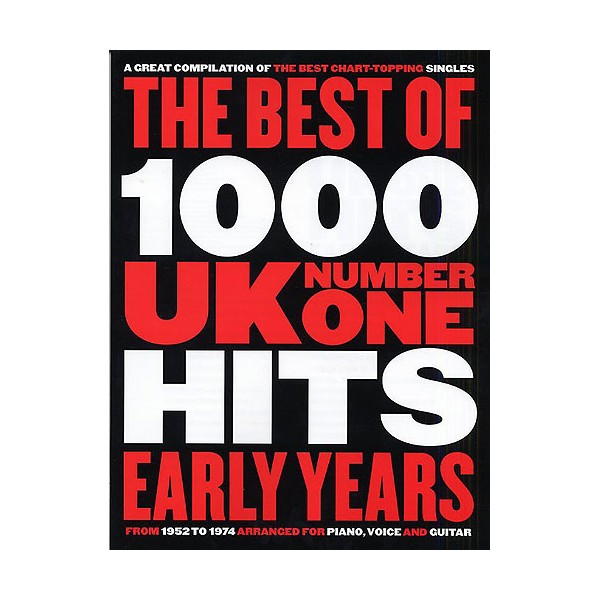 The Best Of 1000 UK No.1 Hits: Early Years (1952-1974)