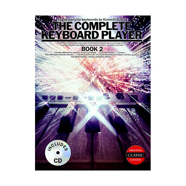 The Complete Keyboard Player: Book 2 (Book/CD)