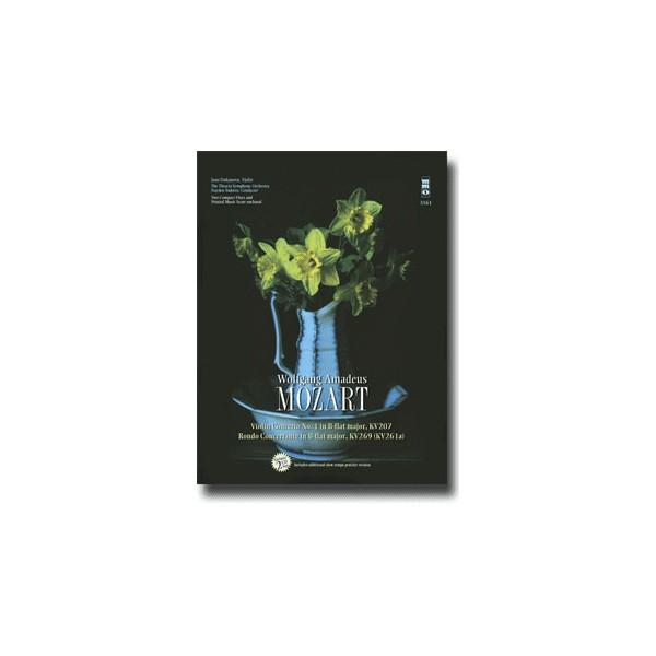 Violin Concerto No. 1 in B-flat major, KV207: Rondo Concertant in B-flat major, KV269 (2 CD set)
