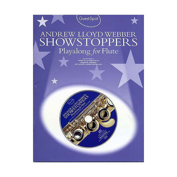 Guest Spot: Andrew Lloyd Webber Showstoppers Playalong For Flute
