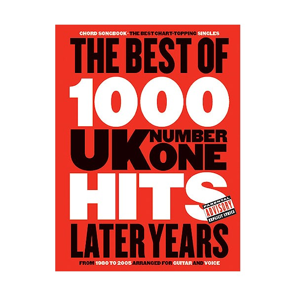 The Best Of 1000 No1 Hits The Later Years Chord Songbook