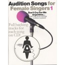 Audition Songs For Female Singers 1