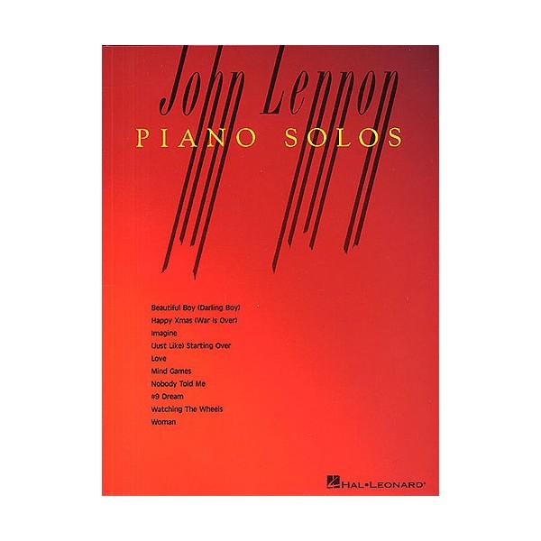John Lennon Piano Solos
