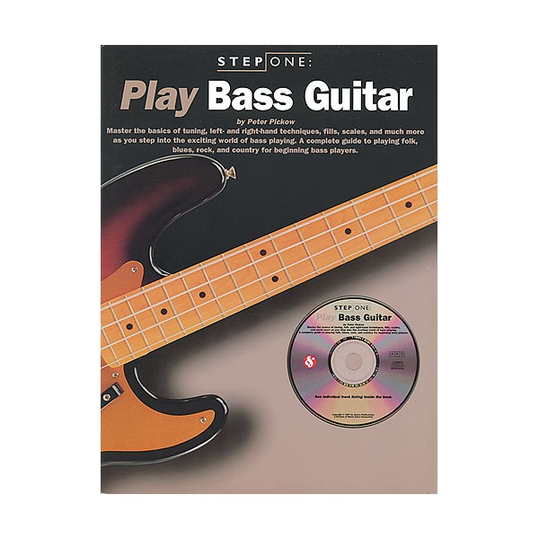 Step One Play Bass Guitar