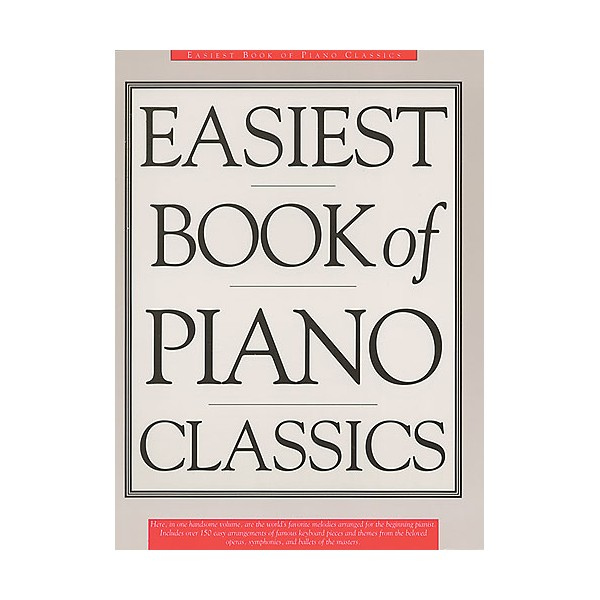 Easiest Book Of Piano Classics