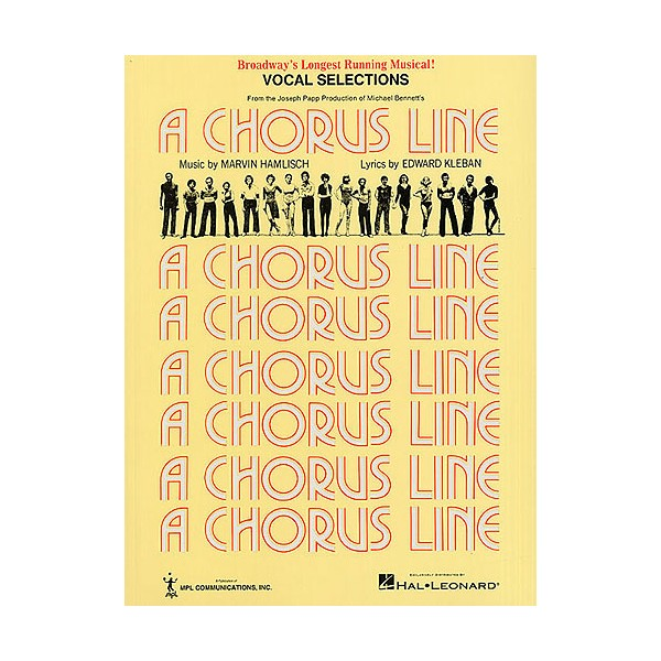 Marvin Hamlisch: A Chorus Line - Vocal Selections
