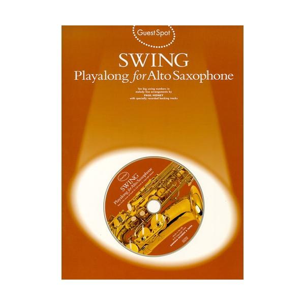 Guest Spot: Swing Playalong For Alto Saxophone