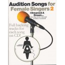Audition Songs For Female Singers 2