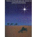 Popular Piano Solos Book 18: Christmas Music