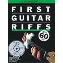 First Guitar Riffs (Book/CD)