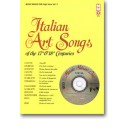 17th/18th Century Italian Songs - High Voice, vol. II