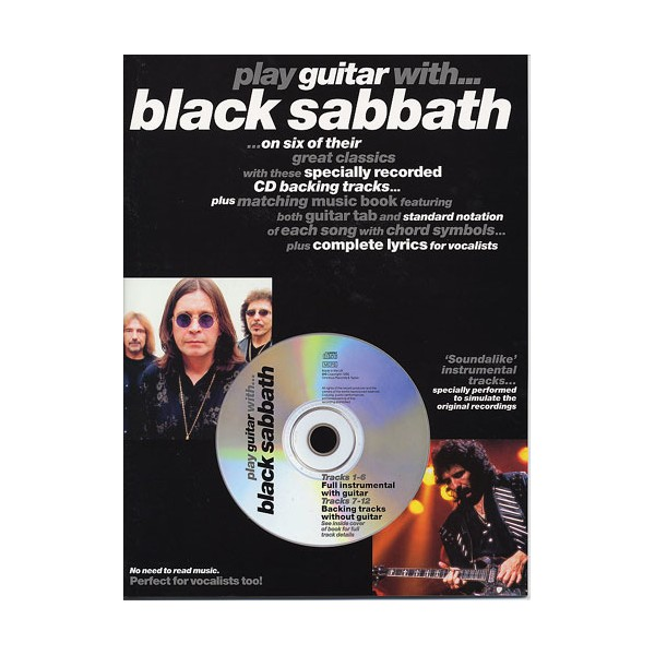 Play Guitar With... Black Sabbath