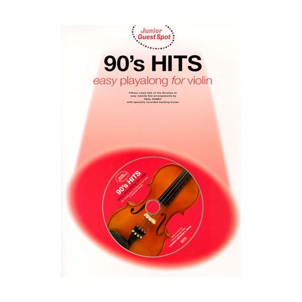 Junior Guest Spot: 90s Hits - Easy Playalong (Violin)