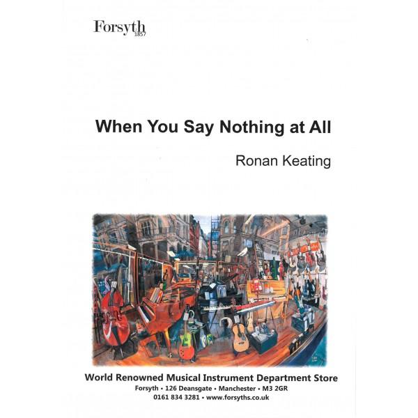 Ronan Keating: When You Say Nothing At All