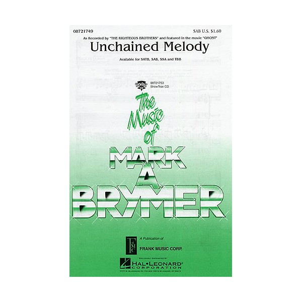 Alex North: Unchained Melody (SAB)
