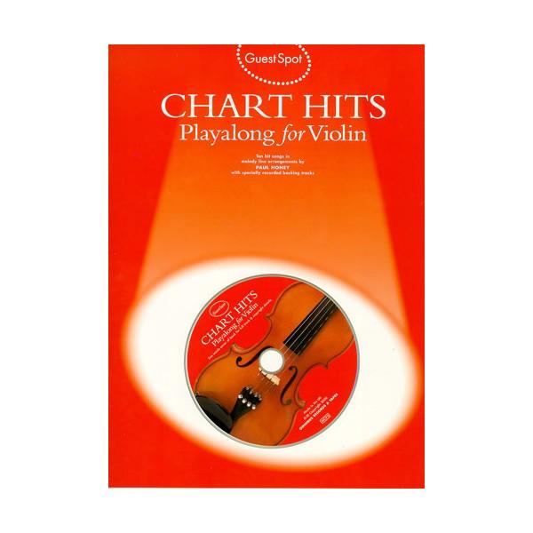 Guest Spot: Chart Hits Playalong For Violin