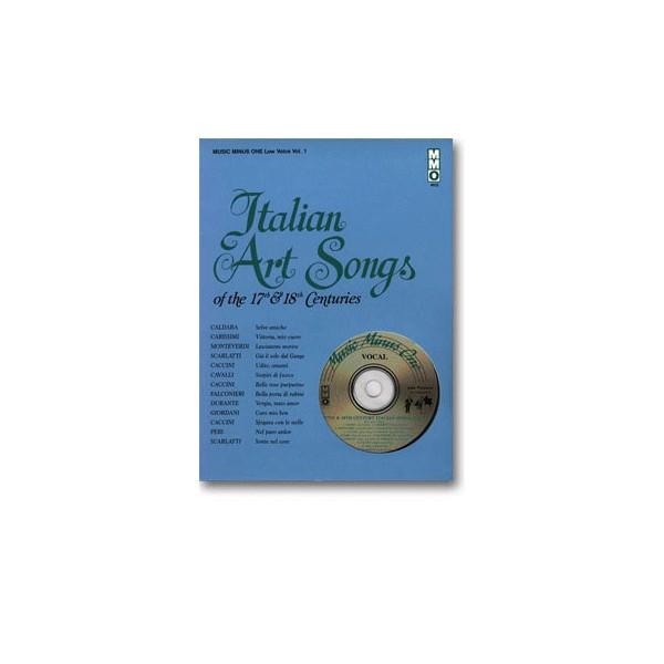 17th/18th Century Italian Songs - Low Voice, vol. I