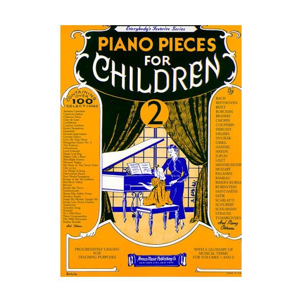 Piano Pieces For Children Volume 2