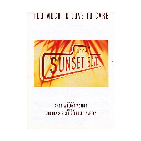 Too Much In Love To Care