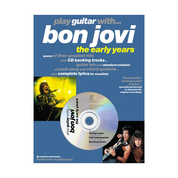 Play Guitar With... Bon Jovi - The Early Years