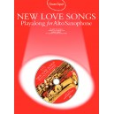 Guest Spot: New Love Songs Playalong For Alto Saxophone