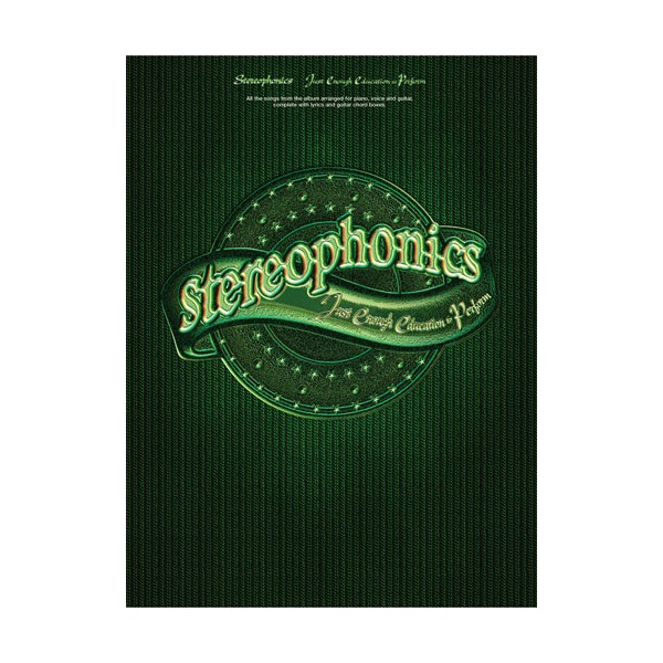 Stereophonics Just Enough Education To Perform Guitar Tab Music Book Rooftop Sheet Music & Song Books