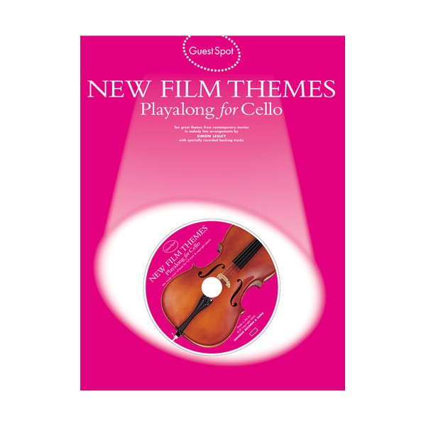 Guest Spot: New Film Themes Playalong For Cello