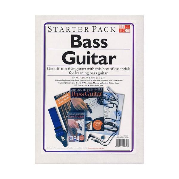 In A Box Starter Pack: Bass Guitar