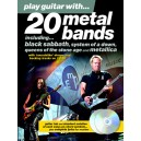 Play Guitar With... 20 Metal Bands