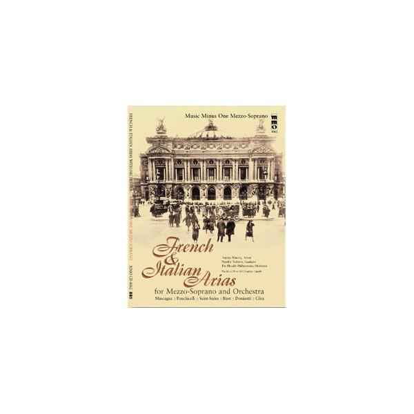 French & Italian Opera Arias for Mezzo-Soprano and Orchestra