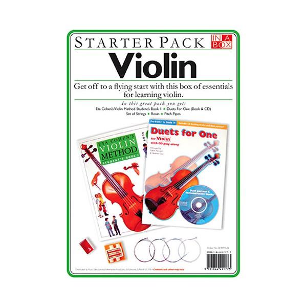 In A Box Starter Pack: Violin