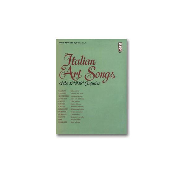 17th/18th Century Italian Songs - High Voice, vol. I (New Digitally Remastered version)