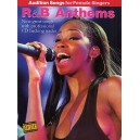 Audition Songs For Female Singers: R&B Anthems