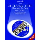 Guest Spot: 21 Classic Hits Playalong For Flute - Blue Book