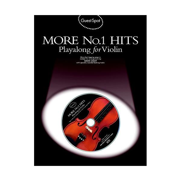 Guest Spot: More No.1 Hits Playalong For Violin