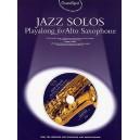 Guest Spot: Jazz Solos Playalong For Alto Saxophone