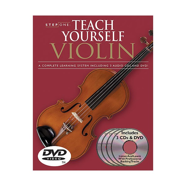 Step One: Teach Yourself Violin (CD/DVD Pack)