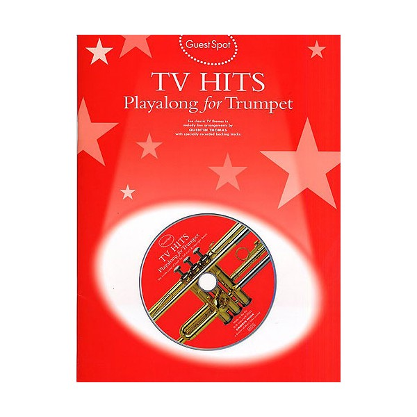 Guest Spot: TV Hits Playalong For Trumpet