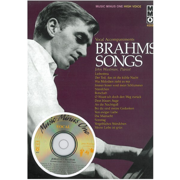 Brahms, Johannes - Lieder - High Voice (Digitally Remastered)
