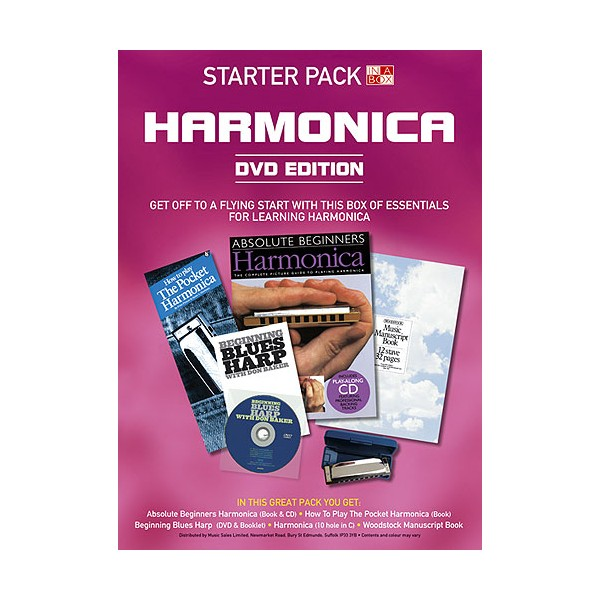 In A Box Starter Pack: Harmonica (DVD Edition)