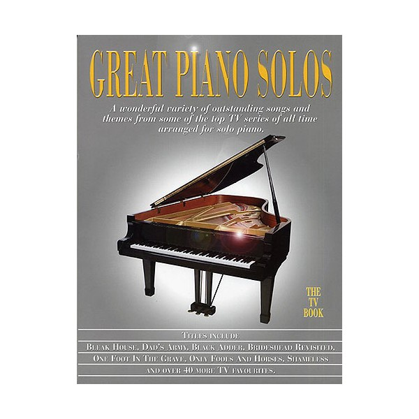 Great Piano Solos - The TV Book