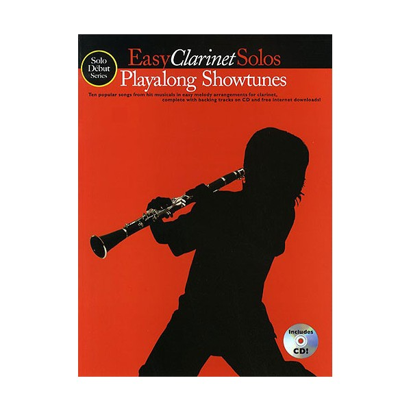 Solo Debut: Playalong Showtunes - Easy Clarinet Solos