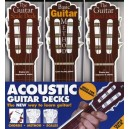 Acoustic Guitar Triple Deck