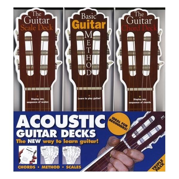 Acoustic Guitar Triple Deck