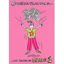 Music Gallery: Congratulations Card - Grade 1 (Girl)